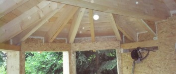 Holzriegelbau – Wochenendhaus